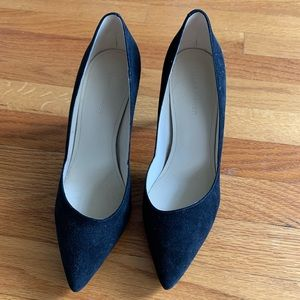Marc Fisher Tuscany Pumps Size 8.5 Black Suede